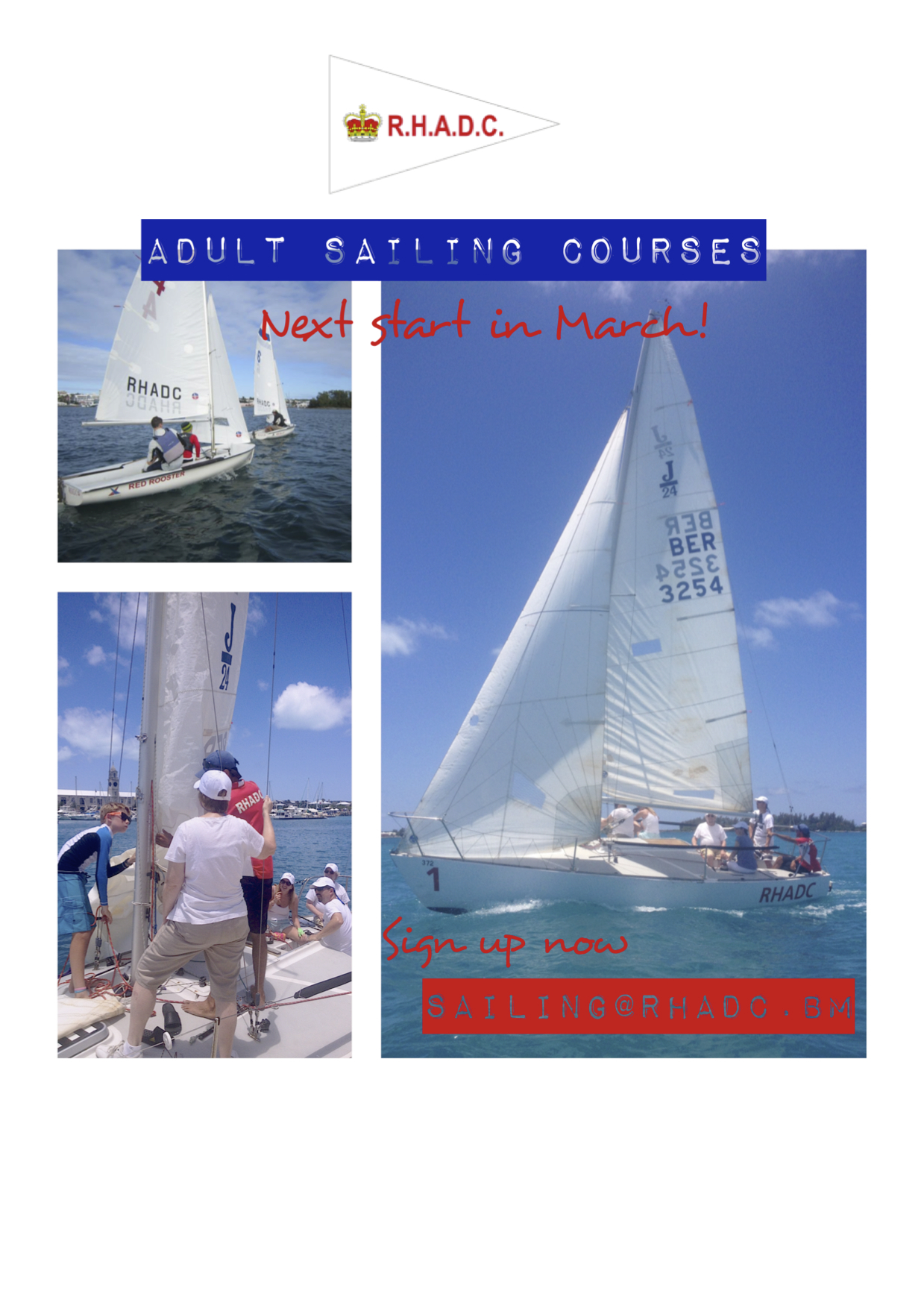 Adult Sailing Flyer March 2 jpg